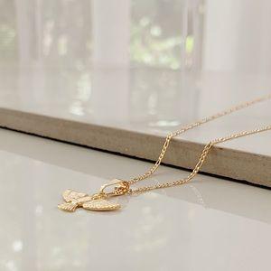 Dove Spirit Necklace | 18k Gold Filled